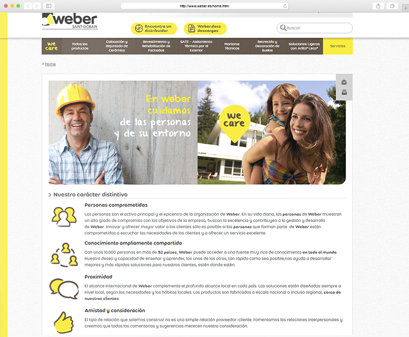 Productos - Weber