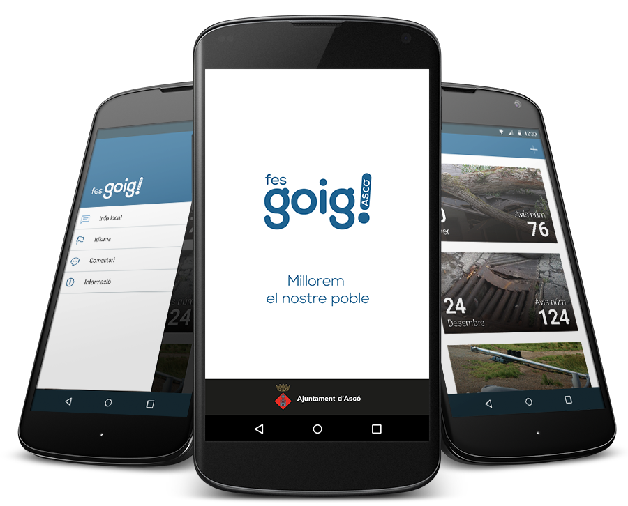 Diseño web - Fes Goig Ascó